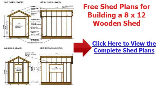 Diy Outdoor Storage Building Plans Pdf Download How To